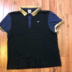 Lacoste polo shirt fits size XL